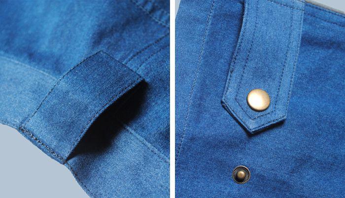 中铝工装扣袢细节图