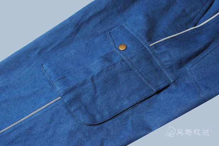 中铝工装裤兜细节图
